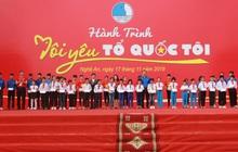 """Gần 2.000 đoàn viên thanh niên tỉnh Nghệ An tham dự Hành trình """"Tôi yêu Tổ quốc tôi"""""""