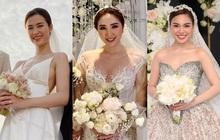 Váy cưới của 3 cô dâu tháng 11 Đông Nhi - Bảo Thy - Giang Hồng Ngọc: Người dịu dàng, người lộng lẫy choáng ngợp, người chẳng ngại sexy