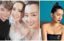 Đám cưới Bảo Thy nhiều mỹ nhân nhưng MC Quỳnh Chi vẫn chiếm spotlight với khí chất ngời ngời dù đã 33 tuổi