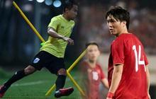 """""""Messi Thái"""" Chanathip tích cực tập luyện chuẩn bị cho màn tái ngộ """"đôi chân pha lê"""" Tuấn Anh ở Vòng loại World Cup"""