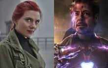 """Lộ kịch bản gốc của ENDGAME: Black Widow có cái kết khác, Iron Man không phải """"búng bay"""" Thanos"""