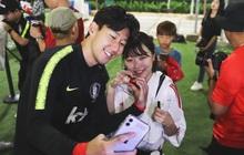 Dân mạng khóc ròng, ghen tị với fan nữ may mắn được thả tim chung với Son Heung-min