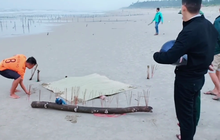 Vụ cô gái mất đầu trôi vào bãi biển ở Quảng Nam: Thêm thông tin về dòng chữ Trung Quốc trên bộ quần áo nạn nhân mặc trên người