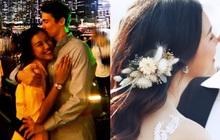 """Cuối cùng MC Hoàng Oanh đã """"nhá hàng"""" ảnh cưới với bạn trai Tây, khẳng định vẫn chạy show đều dù cận ngày trọng đại"""