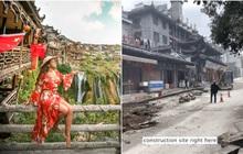 """Lần đầu du lịch Trung Quốc, nữ travel blogger tá hỏa với loạt địa điểm trên mạng – ngoài đời khiến cô """"một đi không trở lại"""""""