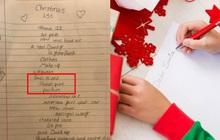 """Con gái xin quà Giáng sinh sớm, bố xem danh sách điều ước chỉ biết """"câm nín"""" vì toàn đồ xa xỉ còn dân mạng thì cười bò"""