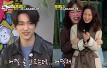 """Running Man: Jeon So Min bối rối khi gặp lại Jinyoung (GOT7) và được """"crush"""" làm thơ tặng... cực phũ"""