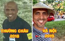 """Vừa đến Hà Nội, trọng tài tài bắt trận Việt Nam - Thái Lan đã check-in hồ Gươm tươi rói, cư dân mạng: """"Mai mong chú cũng vui thế này!"""""""