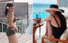 """Xem hết loạt ảnh bikini của Hoàng Anh Apple: Sau 30 đẹp càng thêm đẹp, sexy ngút ngàn các """"cháu 2k"""" khó bì kịp!"""