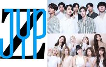 JYP tung hint dự án kết hợp mới: Tưởng dân tình sẽ tò mò đoán TWICE, GOT7 hay ITZY... ai ngờ lại tập trung chỉ trích chiếc logo xấu tệ