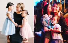 Ai mà ngờ cựu thành viên Wonder Girls giờ đã là mẹ 3 con, công khai gương mặt của 2 đứa bé