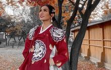 BB Trần diện Hanbok cực thần thái, sẵn sàng tiến cung ở Hàn Quốc: Đẹp thế này liệu có thể tranh sủng làm Hoàng hậu?