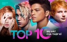 Billboard gọi tên 10 ca khúc xuất sắc nhất của thập kỉ: Ai có ngờ ca khúc tệ nhất năm 2018 do Time bình chọn lại xuất hiện trong danh sách