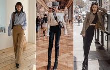 """3 bộ đôi quần dài + giày dép sau đây sẽ biến giấc mơ """"chân dài đến nách"""" của các nàng thành sự thật"""