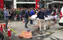 Nữ tài xế lái xe ô tô Mercedes GLC 250 gây tai nạn liên hoàn đã ra công an trình diện