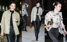 Dạo phố thôi mà đôi bạn thân siêu mẫu 9x hot nhất Hollywood Kendall và Gigi vẫn đẹp xuất thần, flash dìm không nổi