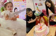 Vợ chồng Hoài Lâm chính thức công khai diện mạo con gái đầu lòng, tiết lộ tên thật của hai công chúa nhỏ