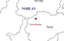 Động đất 4,2 richter ở Nghệ An, người dân hốt hoảng tháo chạy