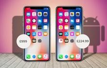 """""""Đặc sản"""" Trung Quốc khiến Apple hết hồn: iPhone song sinh là """"Goophone"""", dáng hình y đúc giá rẻ bội phần"""