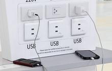 Đừng bao giờ sạc điện thoại ở sân bay, khách sạn kiểu này dù có hết pin: Nguy hiểm tiềm tàng đang rình rập đó!
