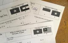 Quá phấn khích trước chuỗi thành tích bất bại của tuyển Việt Nam, cô giáo đưa loạt tỷ số làm mã đề thi khiến học trò vừa mừng vừa sợ