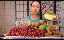 """Vinh Nguyễn Thị - nữ Youtuber nổi tiếng """"xàm duyên dáng"""" lại tiếp tục khiến dân mạng cười bò bằng loạt video bình luận trái cây siêu lạ kỳ"""