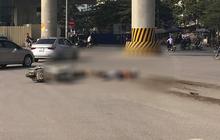 Hà Nội: Ô tô va chạm với xe máy, hai ông cháu tử vong thương tâm