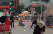 Phó Thủ tướng Trương Hòa Bình gửi thư khen ngợi Trung tá CSGT cứu người mắc kẹt thoát khỏi đám cháy vụ xe ô tô Mercedes
