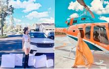 """Lại thêm một cô gái vừa nhập hội """"siêu rich kids"""" cuồng du lịch: Hình check-in toàn thấy đồ hiệu, siêu xe và cả… trực thăng riêng"""