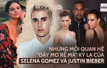 """Cặp tình cũ Selena Gomez và Justin Bieber dính vào 4 mối quan hệ """"dây mơ rễ má"""" kỳ lạ: Toàn quen kẻ thù của nhau!"""