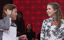 Cô gái Nga nói tiếng Việt sõi khiến Trường Giang đỡ không kịp