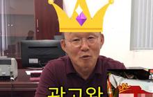 """Chia sẻ về việc đóng quảng cáo, HLV Park hài hước trêu đùa: """"Tôi không bao giờ đội tóc giả đâu nhé"""""""