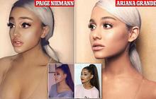 """Bản sao Ariana Grande bị fan hâm mộ """"ném đá"""" vì thích trang điểm, bắt chước theo phong cách ăn mặc của nữ ca sĩ nổi tiếng"""