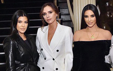 """Màn đọ sắc cực hiếm giữa Victoria Beckham và chị em Kim """"siêu vòng 3"""": Khi thanh lịch gặp sexy, U40-45 mà vẫn quá đỉnh"""