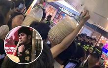 """Cuồng nhiệt như fan của Châu Kiệt Luân: Vác cả can trà sữa trân châu """"siêu to khổng lồ"""" 5 lít để """"dụ dỗ"""" idol"""