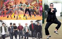 BTS, SNSD và PSY sánh ngang cùng loạt nghệ sĩ phương Tây đình đám, được Billboard vinh danh 100 bài hát định hình cho âm nhạc thập kỷ 2010