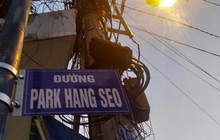 """Con hẻm mang tên """"Đường Park Hang-seo"""" bị gỡ bỏ chỉ sau 1 ngày lan truyền trên mạng xã hội"""