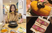 Theo chân rich-kid Jolie Nguyễn ăn uống sương sương ở Seoul, lạ lẫm nhất là món bò Wagyu ăn kèm trứng cá dát vàng!