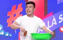 Lê Dương Bảo Lâm trổ tài bán kem trộn trên truyền hình, đòi block hết dàn sao Việt