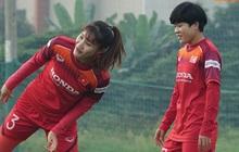 Đội tuyển nữ Việt Nam rèn bài đá phạt đền, tự tin trước giờ lên đường tham dự SEA Games 2019