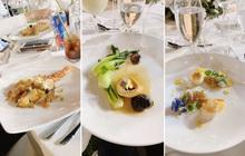 """Ăn """"sương sương"""" tận 3 tiếng, đây là toàn bộ những món sơn hào hải vị của """"siêu thực đơn"""" trong đám cưới Đông Nhi - Ông Cao Thắng tối nay"""