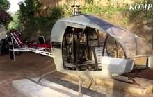 Ngán ngẩm tắc đường mỗi ngày, ông chú chi gần 14 tỉ tự chế máy bay trực thăng đi cho thoáng