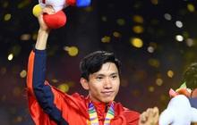 Yêu nước như Đoàn Văn Hậu: Khoác cờ Tổ quốc từ sân bóng về phòng ngủ sau khi vô địch SEA Games