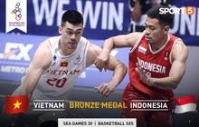 Đối đầu với Indonesia, cơ hội cuối cùng để tuyển bóng rổ Việt Nam ghi tên vào lịch sử