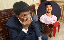 Bố Văn Hậu rơi nước mắt, đoàn CĐV Lai Châu kéo đến kín nhà cầu thủ để hò reo ăn mừng HCV SEA Games 30 của ĐT Việt Nam