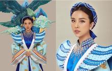 Hé lộ Quốc phục đại bàng sải cánh của Thúy An mang đến Miss Intercontinental, hoà cùng chiến thắng của U22 Việt Nam