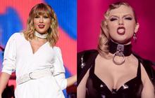 """""""Chị rắn"""" Taylor Swift lên cân trông thấy, cặp đùi tăng size nhưng vòng 1 khủng ngày nào đâu rồi?"""