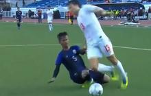 Cập nhật Myanmar 2-2 Campuchia: Cầu thủ Campuchia gốc Việt sút phạt như Cristiano Ronaldo