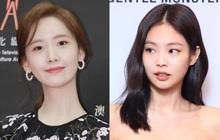 """Cận cảnh 2 nhan sắc nữ thần Kpop ngày hôm qua: Yoona đẹp không tì vết, Jennie dù bị """"dìm"""" nhưng vẫn siêu cưng"""