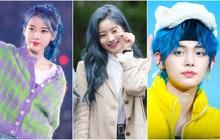 """Bái phục idol Hàn khoản bắt trend: Cả """"binh đoàn"""" đã nhuộm tóc xanh trước cả khi Pantone công bố màu chính thức của năm 2020"""